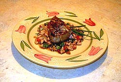Tuna with white beans