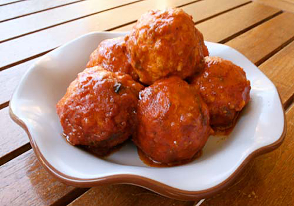 Chicken Meatballs in Tomato Sauce – Italian Food Forever
