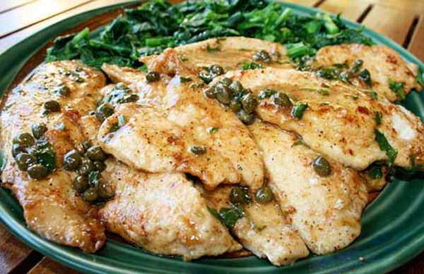 Chicken Piccata Italian Food Forever