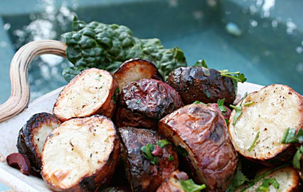 Grilled Warm Red Potato Salad Italian Food Forever