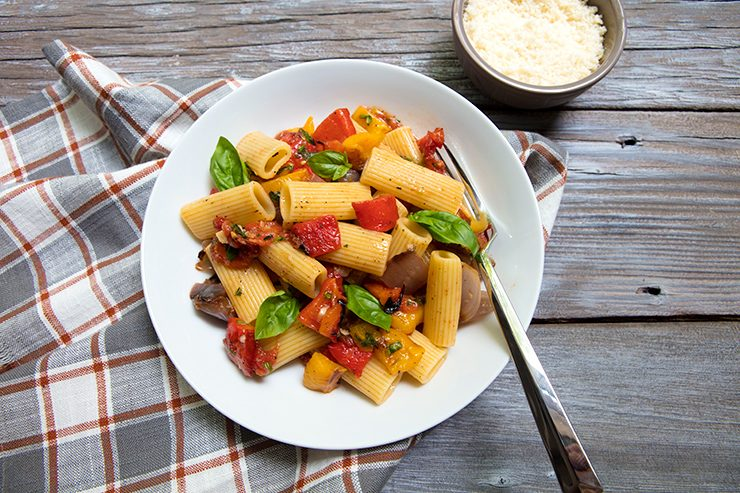 Italian food forever those who eat well eat italian grilled vegetable pasta forumfinder Image collections