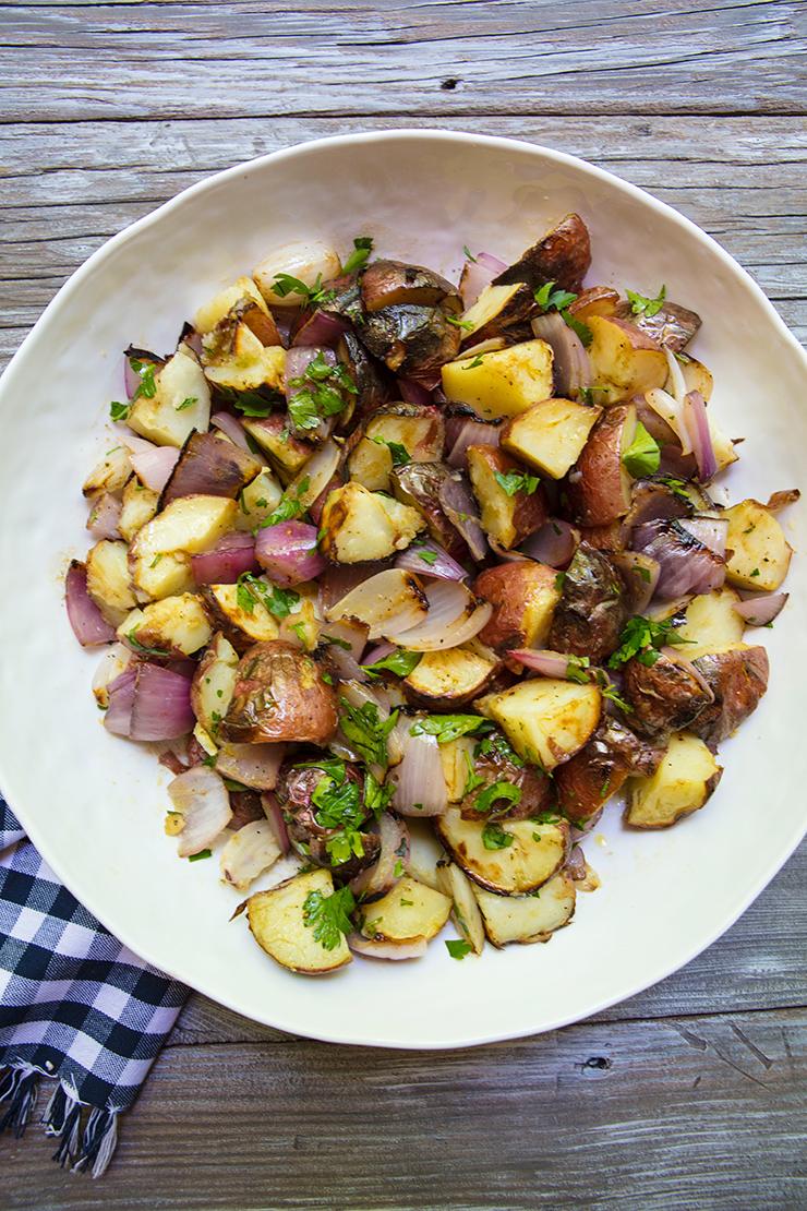 Warm Red-Potato Salad Warm Red-Potato Salad new pics