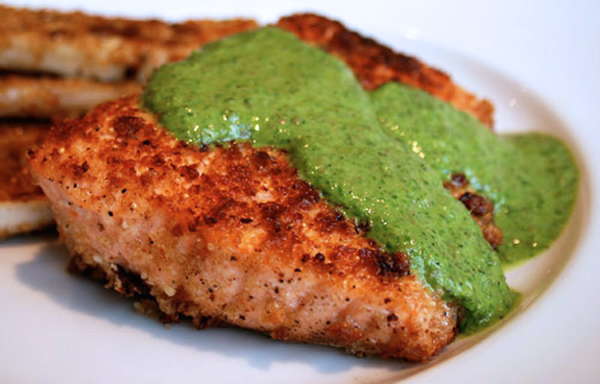 salmongreensauce1