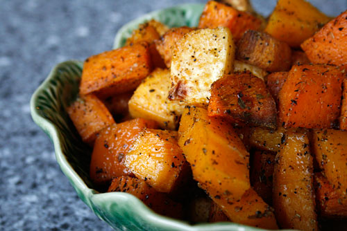 Roasting vegetables caramelizes them which brings out their full rich flavor, and gives them a sweetness that is delicious.
