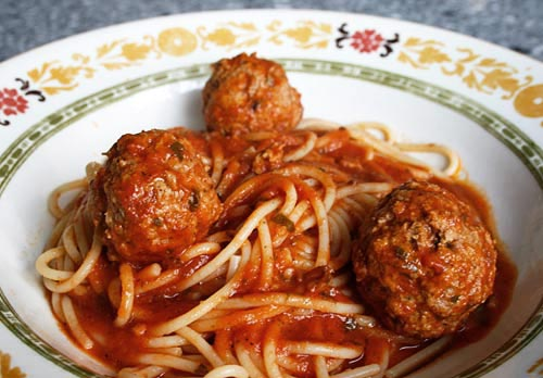 Nonnas spaghetti meatballs italian food forever this is our family recipe forumfinder Gallery