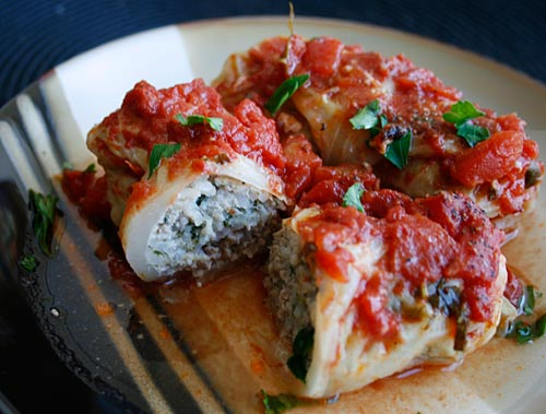 Veal Stuffed Cabbage