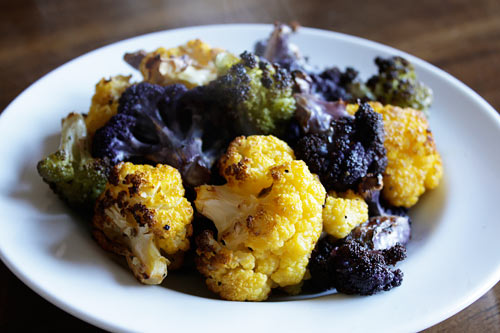Oven roasting cauliflower enhances the flavor creating a delicious side dish.