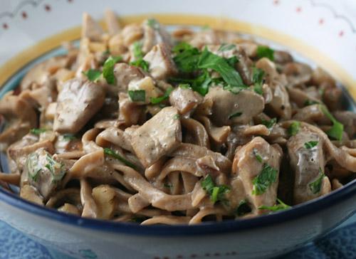 Porcini recipes pasta