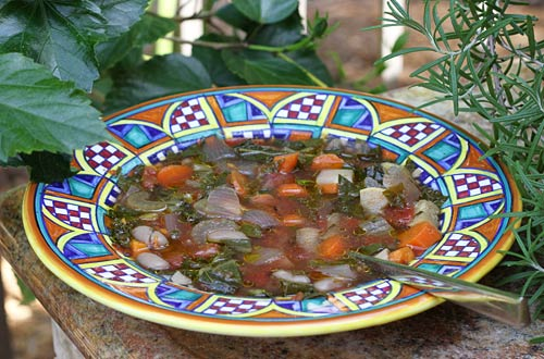 This soup is truly a multivitamin in a bowl.