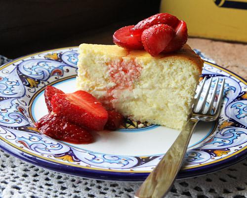 Italian Food Forever Lemon Ricotta Cake
