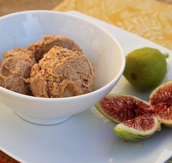 Fresh Fig Mascarpone Gelato – Italian Food Forever