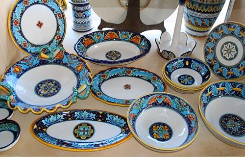 A ... & Deruta Ceramics \u2013 Italian Food Forever