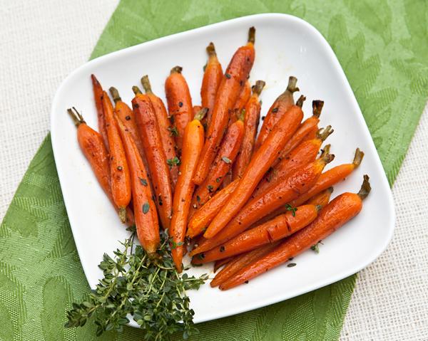 Roasted Baby Carrots With Orange & Honey – Italian Food ...