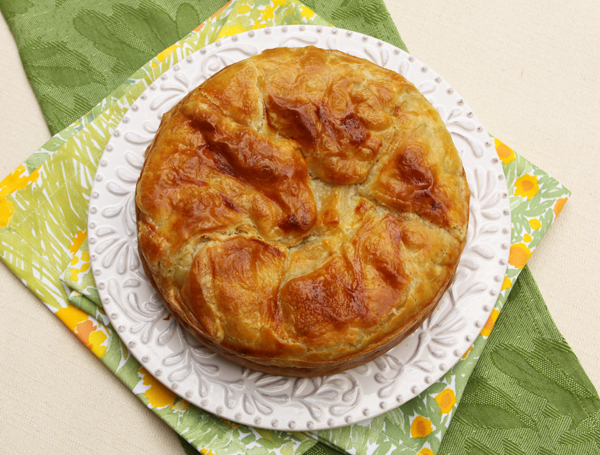 A savory ricotta and spinach pie from Liguria often made for Easter celebrations.
