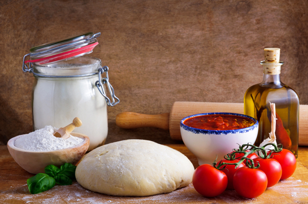 how to make pizza dough from italy