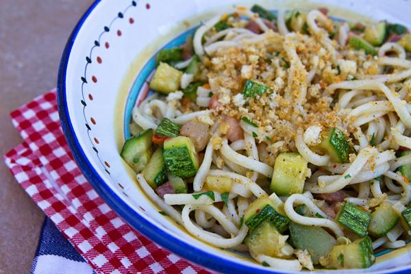 Pasta With Zucchini, Pancetta & Breadcrumbs – Italian Food ...