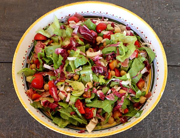 Italian chopped salad italian food forever italian chopped salad forumfinder Image collections