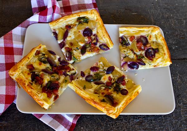 Sweet & Savory Grape Harvest Tart – Italian Food Forever
