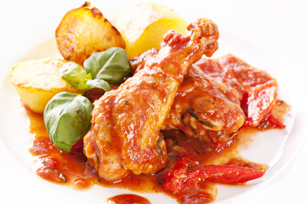 Slow Cooker Chicken Cacciatore Italian Food Forever