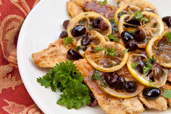 Chicken scallopini capers recipe