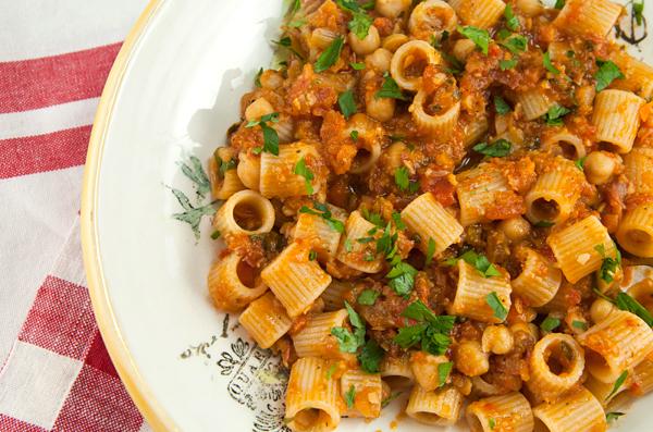 Tubettoni Pasta With Chickpeas – Italian Food Forever