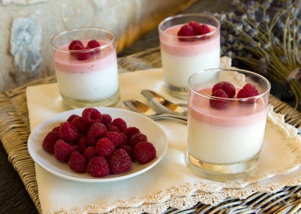 Mary's Lavender Panna Cotta Recipe — Dishmaps