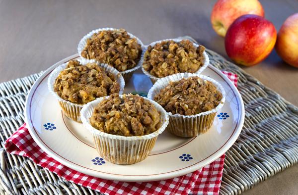 Apple Farro Muffins
