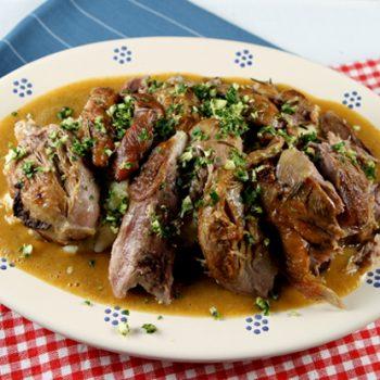 Slow Cooked Pork Shanks With Gremolata (Stinco) – Italian ...