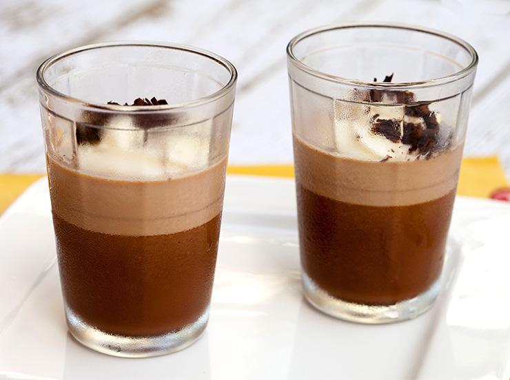 Chocolate & Amaretto Panna Cotta – Italian Food Forever
