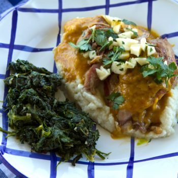 Stinco (Braised And Roasted Pork Shanks) Recipe — Dishmaps