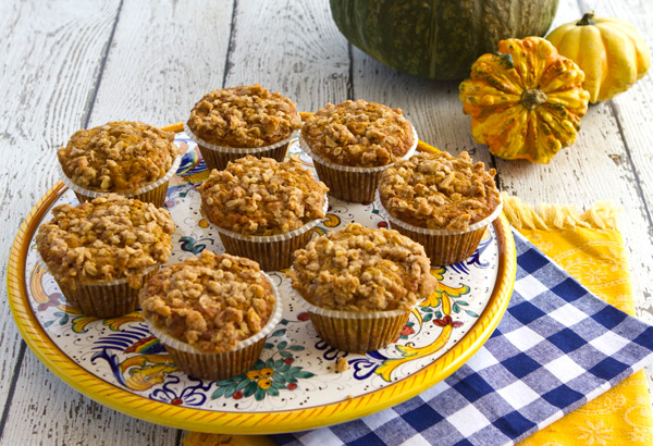 Pumpkin Applesauce Muffins – Italian Food Forever