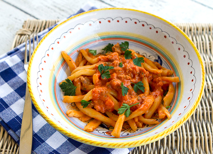 how to make spicy italian pasta sauce