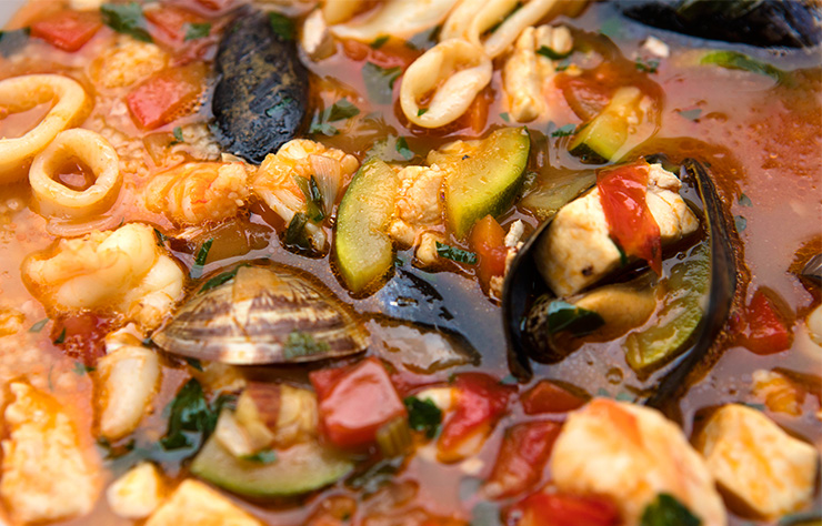 Sicilian Seafood Soup With Couscous – Italian Food Forever