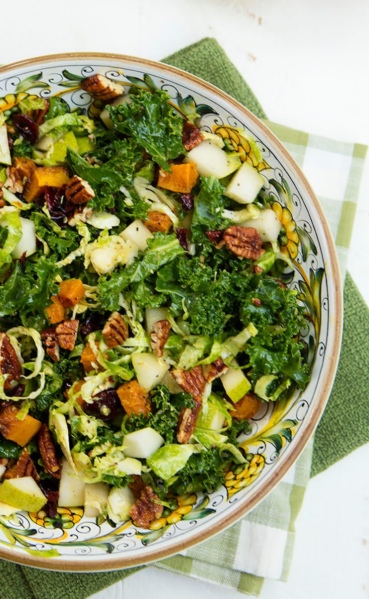 This salad has it all....crunch, color, flavor, and nutrition!