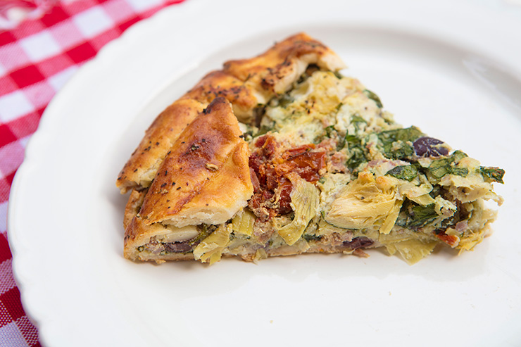 Spinach & Artichoke Rustic Tart – Italian Food Forever