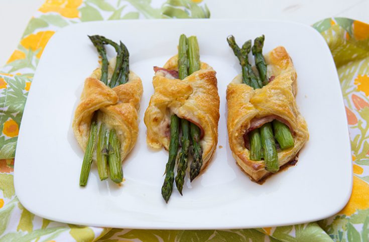 An easy to prepare spring dish celebrating asparagus.