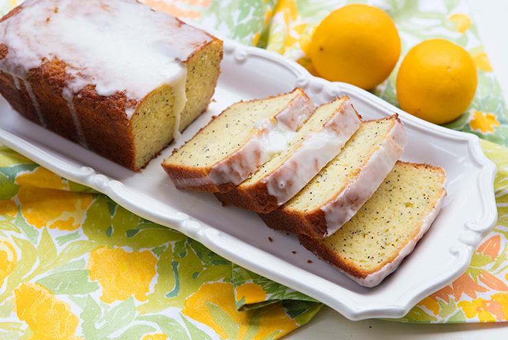 Meyer Lemon Poppy Seed Loaf