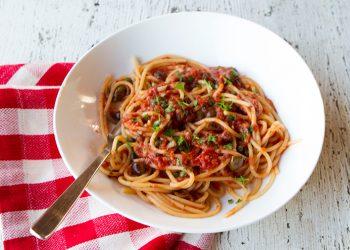 Orecchiette With Broccoli Rabe, Sausage, & Sun-dried Tomato Pesto ...