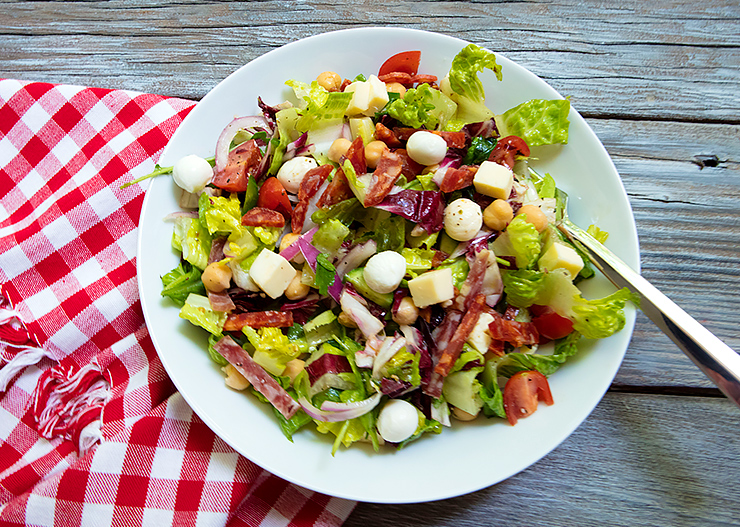 When Visiting Any Italian Themed Restaurant Or Even Many Casual Dining Restaurants They Have What Call An Chopped Salad On The Menu Served