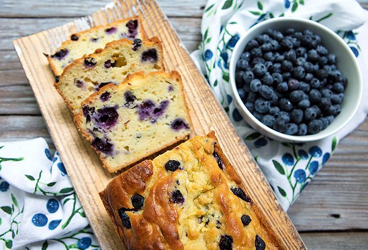 zucchini blueberry  buttermilk bread  italian food forever