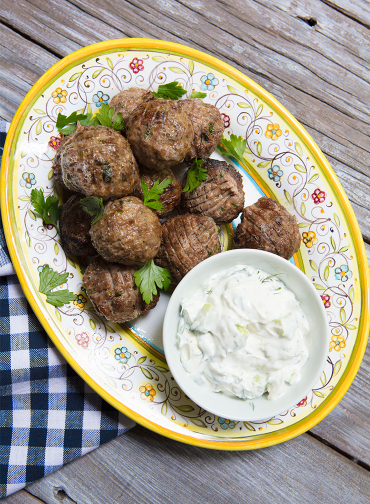how to cook lamb meatballs