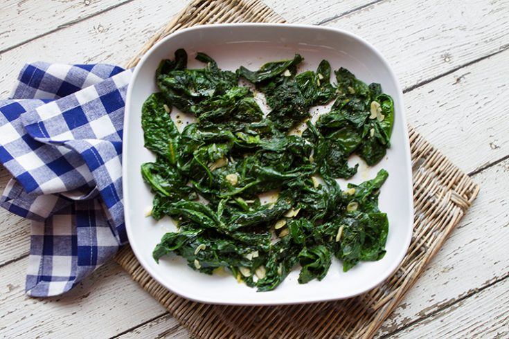 A quick and easy side dish of tender greens.