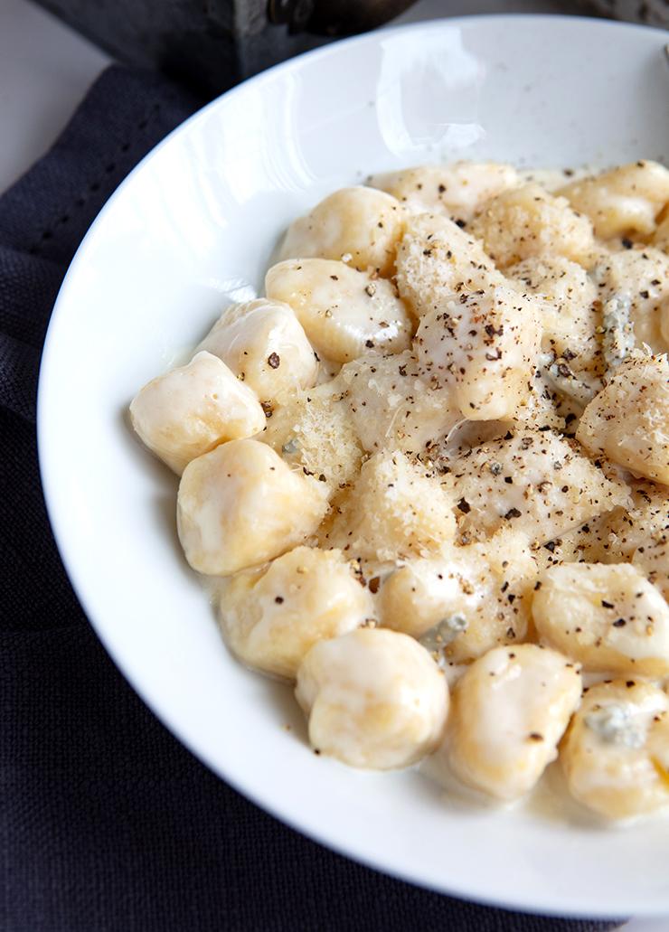 Travel Street Dish gnocchigorgonzola5 Potato Gnocchi With Gorgonzola Cream Sauce | Italian Food Forever