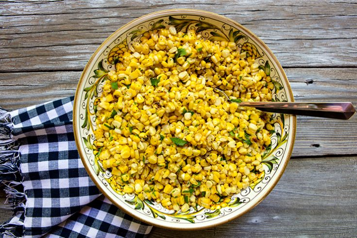 Grilling corn brings out the natural sugars, creating a very delicious summer treat.
