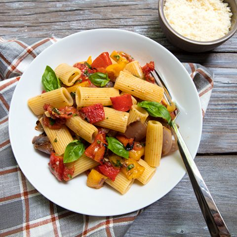 Grilled Vegetable Pasta