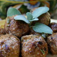Meatballs With Sage And Marsala