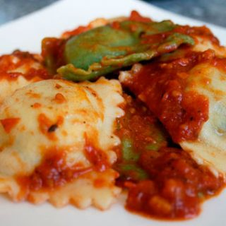 Spinach Ricotta Ravioli