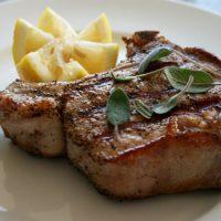 Veal Chops With Lemon Sage Sauce