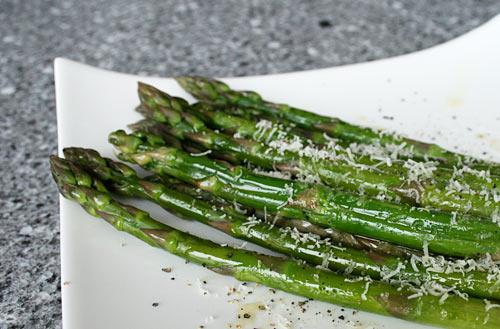 A quick and tasty way to prepare fresh asparagus.