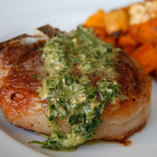 Lamb Chops With Mint Pesto